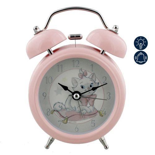 Disney Aristocats Marie Pink Alarm Clock For Nursery Decor